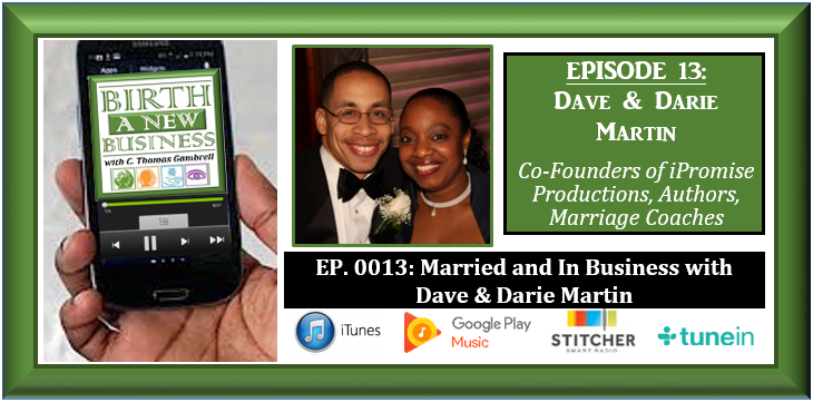 Dave and Darie Martin